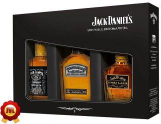 Jack Daniels Verkostungsset 3 x 0,05 Liter