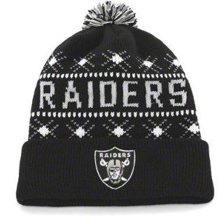 Oakland Raiders 47 Brand NFL Tip Off Cuffed Knit Hat Sport