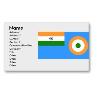 Ensign the Indian Air Force, India Business Cards