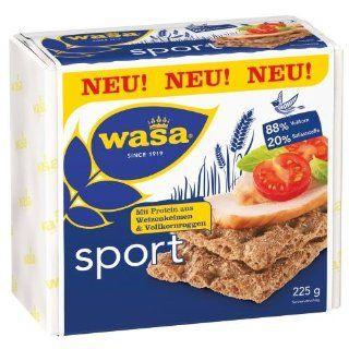 Wasa Sport  Knäckebrot, 6er Pack (6 x 225 g) Lebensmittel
