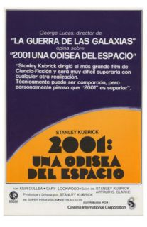 2001 A Space Odyssey, Spanish Movie Poster, 1968 Prints
