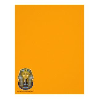King Tut Mask Costume Tees n Stuff Letterhead