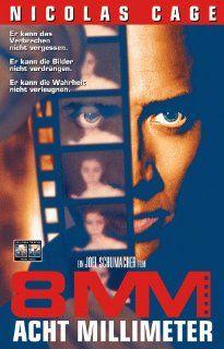 8mm [VHS] Nicolas Cage, Joaquin Phoenix, James Gandolfini, Mychael