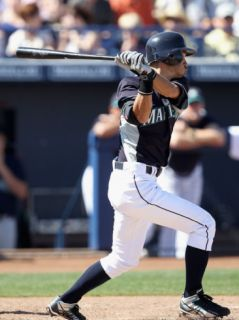 Oakland Athletics v Seattle Mariners, PEORIA, AZ   MARCH 12: Ichiro Suzuki Photographic Print by Christian Petersen