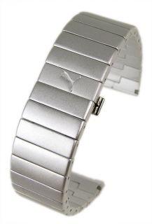 Puma Sirius Ersazband Uhrenarmband Aluminium 103.500
