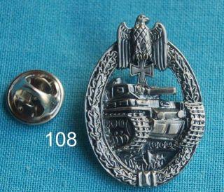Panzer Adler EK Orden Militaria Pin Badge Anstecker 108