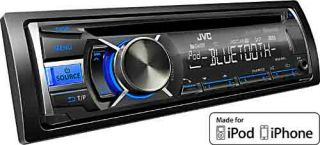 JVC KD R741BTE Auto CD Receiver (AUX IN, Bluetooth, UKW Tuner, USB