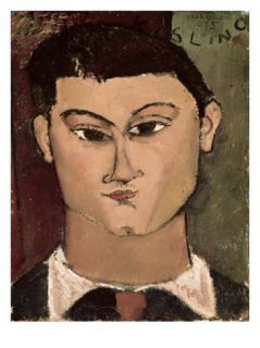 Portrait of the Painter Moise Kisling Giclee Print by Amedeo Modigliani