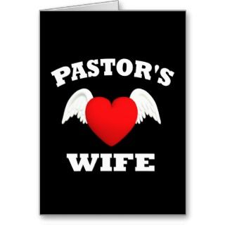 Greeting Cards, Note Cards and Pastor Wife Greeting Card Templates