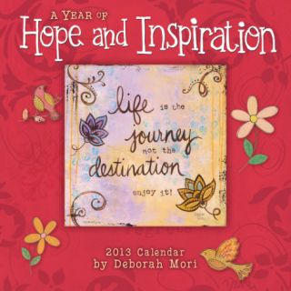 Year of Hope and Inspiration, A   2013 12 Month Calendar Calendars