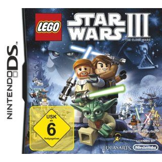 Lego Star Wars III The Clone Wars Nintendo DS Games