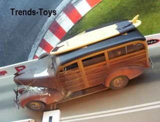 MCC 07255 1:18 1939 Chevrolet Woody Wagon Surf weathered Scheunenfund