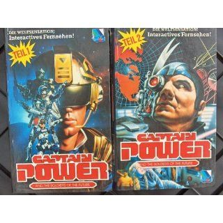 Captain Power and the Soldiers of the Future (4 VHS) Tim Dunigan