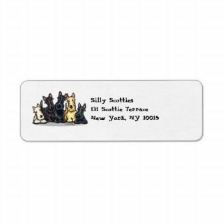 Scottie Lover Address Mailing Labels