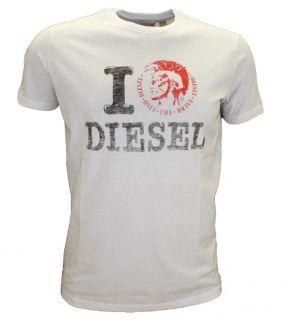 Diesel Jeans T Shirt Tee Ilove I Love Gr. S XL