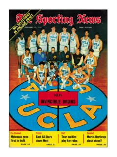 UCLA Bruins Basketball Team   February 17, 1973 Posters