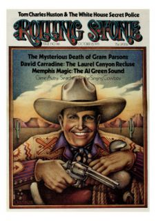 Gene Autry, Rolling Stone no. 146, October 1973 Photographic Print by Gary Overacre