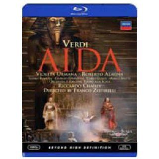 Verdi   Aida [Blu ray]: Violeta Urmana, Roberto Alagna