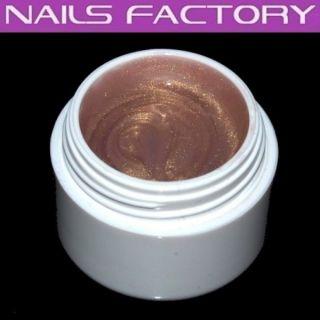 UV Colorgel, metallic sahara 5g, A127, Nails, Nagelstudio, Nailart