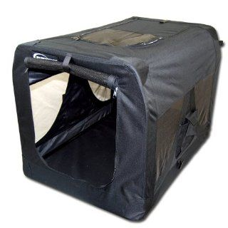 12818 TB03XXXL Tiertransportbox in Schwarz   ca. 102x69x69 cm (L/B/H