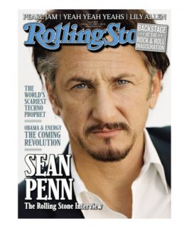 Sean Penn, Rolling Stone no. 1072, February 19, 2009 Photographic Print by Sam Jones