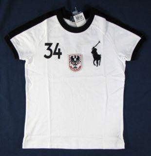 Polo RALPH LAUREN T Shirt 128 134 DEUTSCHLAND Big Pony