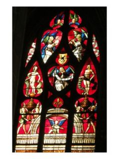 Window, 1507 13 (Stained Glass) Giclee Print by Arnaud de Moles
