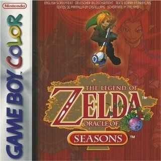 The Legend of Zelda   Oracle of Seasons Nintendo Game Boy Color