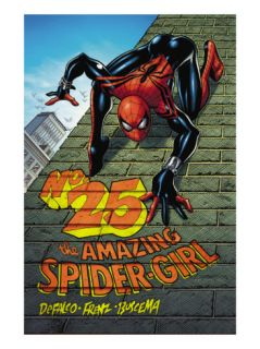 Amazing Spider Girl #25 Cover Spider Girl Print by Pat Olliffe