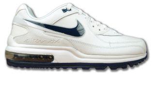 Nike Air Max II 2 Plus Weiss/Navy Neu Glattleder Größen wählbar