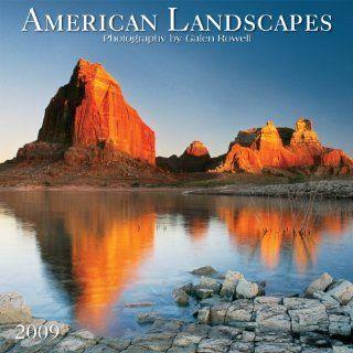 American Landscapes Calendar Galen Rowell Englische