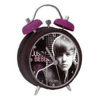 Justin Bieber Wecker Classic Design twin bell alarm clock Uhr