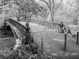 New York City, Central Park, Bridge #27, View from Deck of Bridge ing Southwest, 1980s Posters
