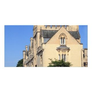 Merton College, Oxford Customized Photo Card