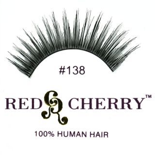 Red Cherry   Falsche Wimpern Nr. 138   Echthaar