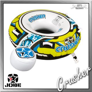 CRUSHER 1 Person Funtube Wassersport Reifen Tube Fun Towable ca 142 cm