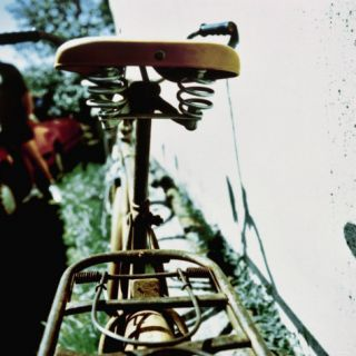 Rear View of the Seat of a Bicycle Photographic Print