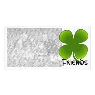 St. Patricks Day Samrock 4 Leaf Clover Photocard Photo Cards