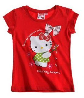 Hello Kitty T Shirt rot Bekleidung