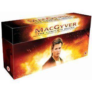MACGYVER   DIE KOMPLETTE SERIE   39 DVD BOX   ALLE 139 FOLGEN