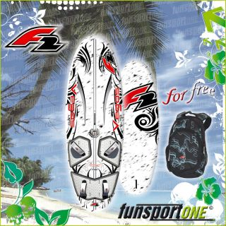 F2 VEGAS LTD 136 L FREERIDE WINDSURF BOARD ~ 2012 SURFBOARD + GRATIS