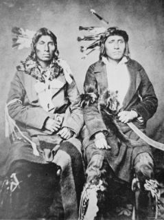Two Sioux Chiefs, 1862 Photographic Print