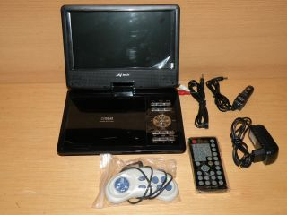 Portable DVD Player JAY tech D968. 22,9cm (9 Zoll) LCD Display WIE NEU