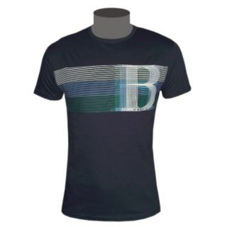 Hugo Boss Green Label Herren T Shirt dunkelblau Tee Gr. L