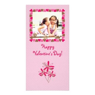 Heart Frame Valentine Photo Card