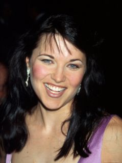 Actress Lucy Lawless Premium Photographic Print by Dave Allocca