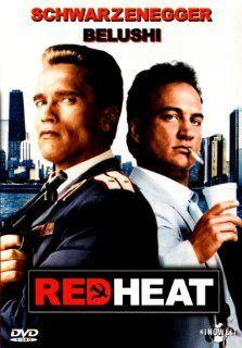 Red Heat [VHS] Arnold Schwarzenegger, James Belushi, Peter Boyle