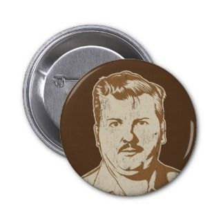 John Wayne Gacy retro serial killer portrait Pin
