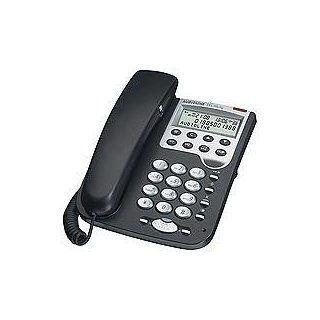 Audioline TEL 36 clip Freisprech Telefon mit Elektronik