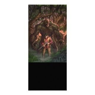 Monster Hunters Survival Guide #2A   Sasquatch Customized Rack Card